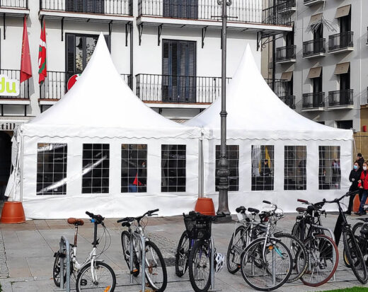 carpa Plaza del Castillo