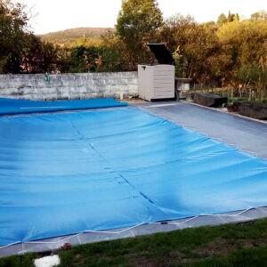 cubiertas de lona para piscinas