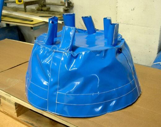 Fabricación a medida de fundas para maquinaria